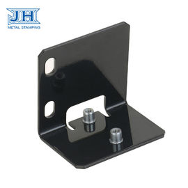Laser Cutting Machine Components Black Metal Stamping For Refrigeration Equipment